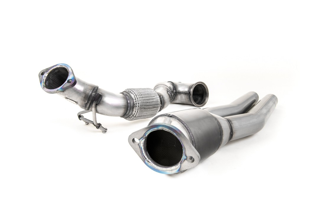 Milltek Large Bore Downpipe and De-Cat For 8V RS3