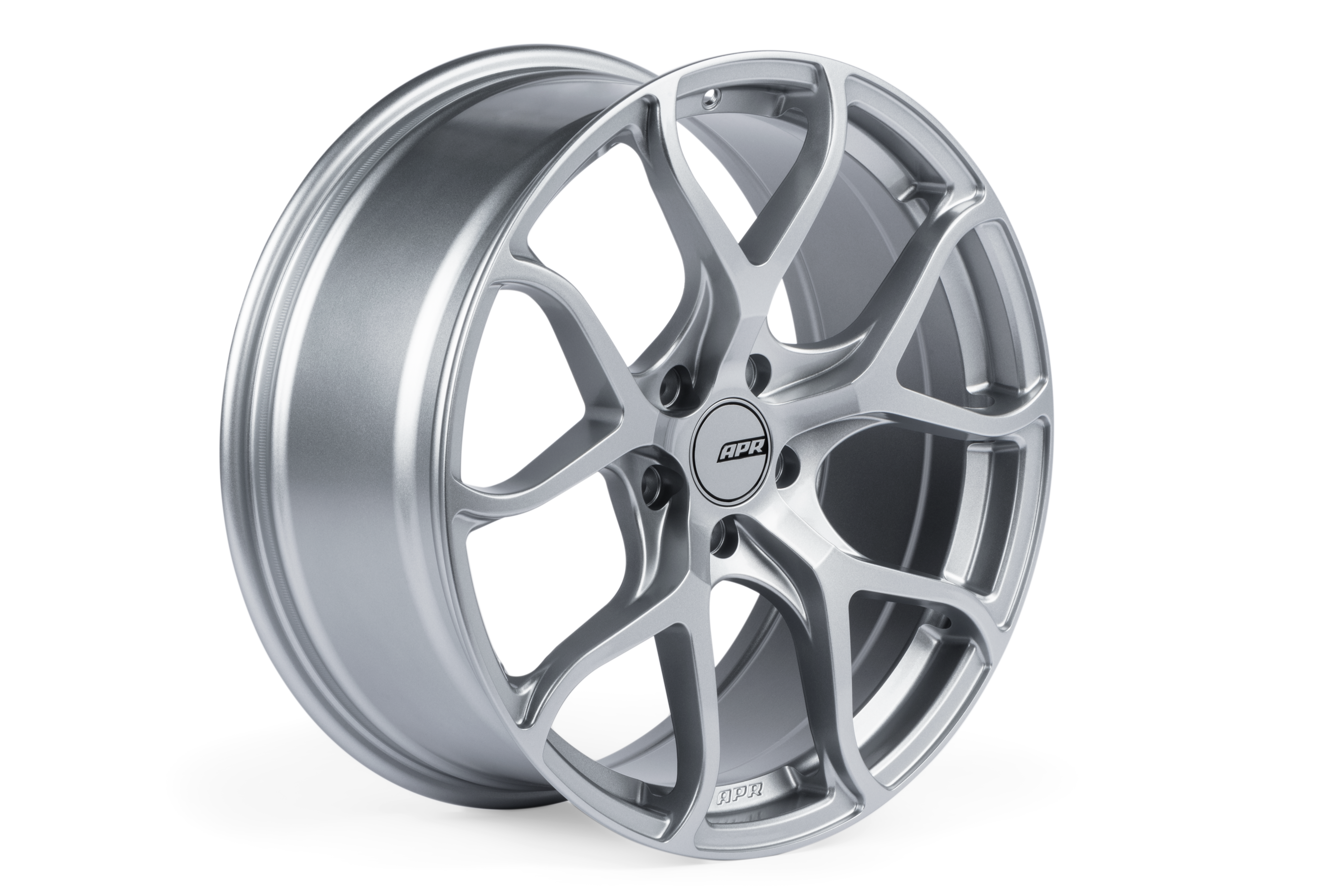 APR Flow Formed Performance Wheel For ET45, 19X8.5 Silver