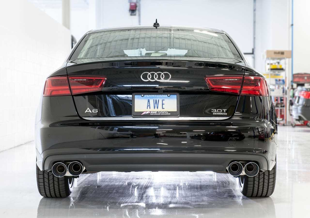 AWE Tuning Audi C7 5 A7 3 0T Touring Edition Exhaust - Quad Outlet