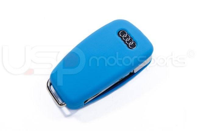 Silicone Key Fob Jelly (Audi Models)- Blue