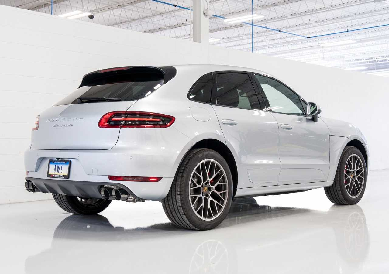 Awe Tuning Porsche Macan Track Edition Exhaust System Diamond
