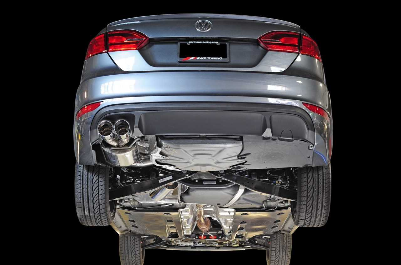 AWE Tuning Touring Edition Exhaust - Polished Silver Tips For MK6 GLI 2.0T
