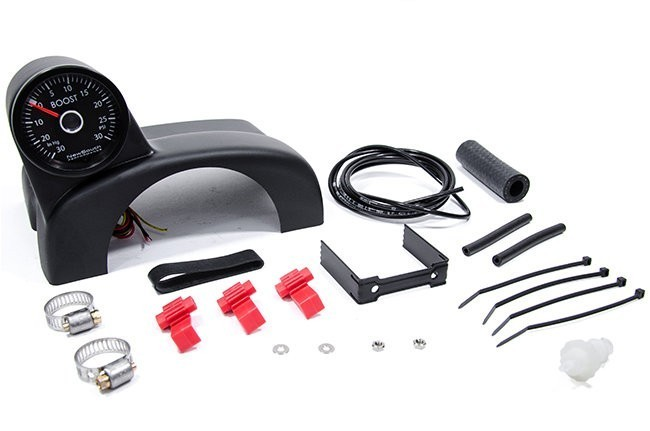 NewSouth Turbo Pod Boost Gauge Kit For MKVI White Gauge