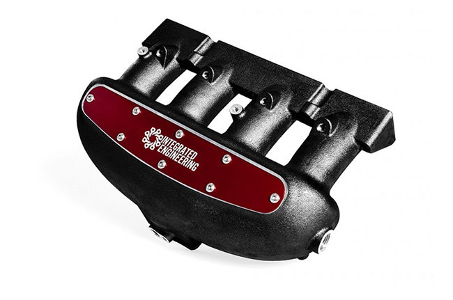 Integrated Engineering 2.0T FSI/TSI Intake Manifold- Red