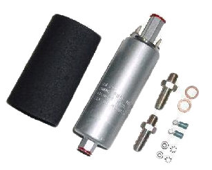 Walbro 255 LPH external in-line fuel pump kit