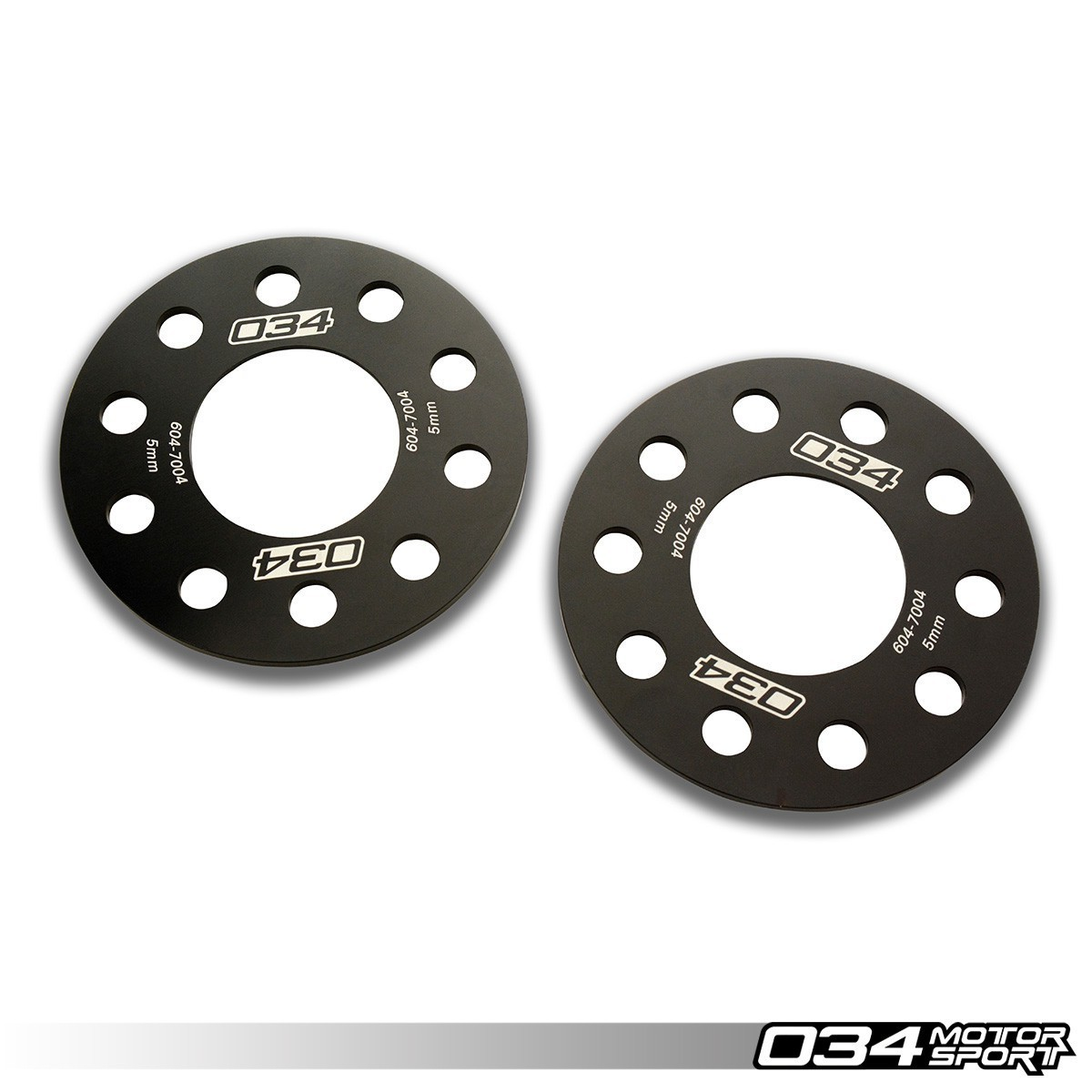 034 Wheel Spacer Pair, 5X112, 5mm Thick, 66.5mm Hub