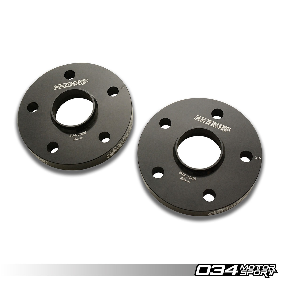 034 Wheel Spacer Pair, 5X112, 20mm Thick, 57.1mm Hub