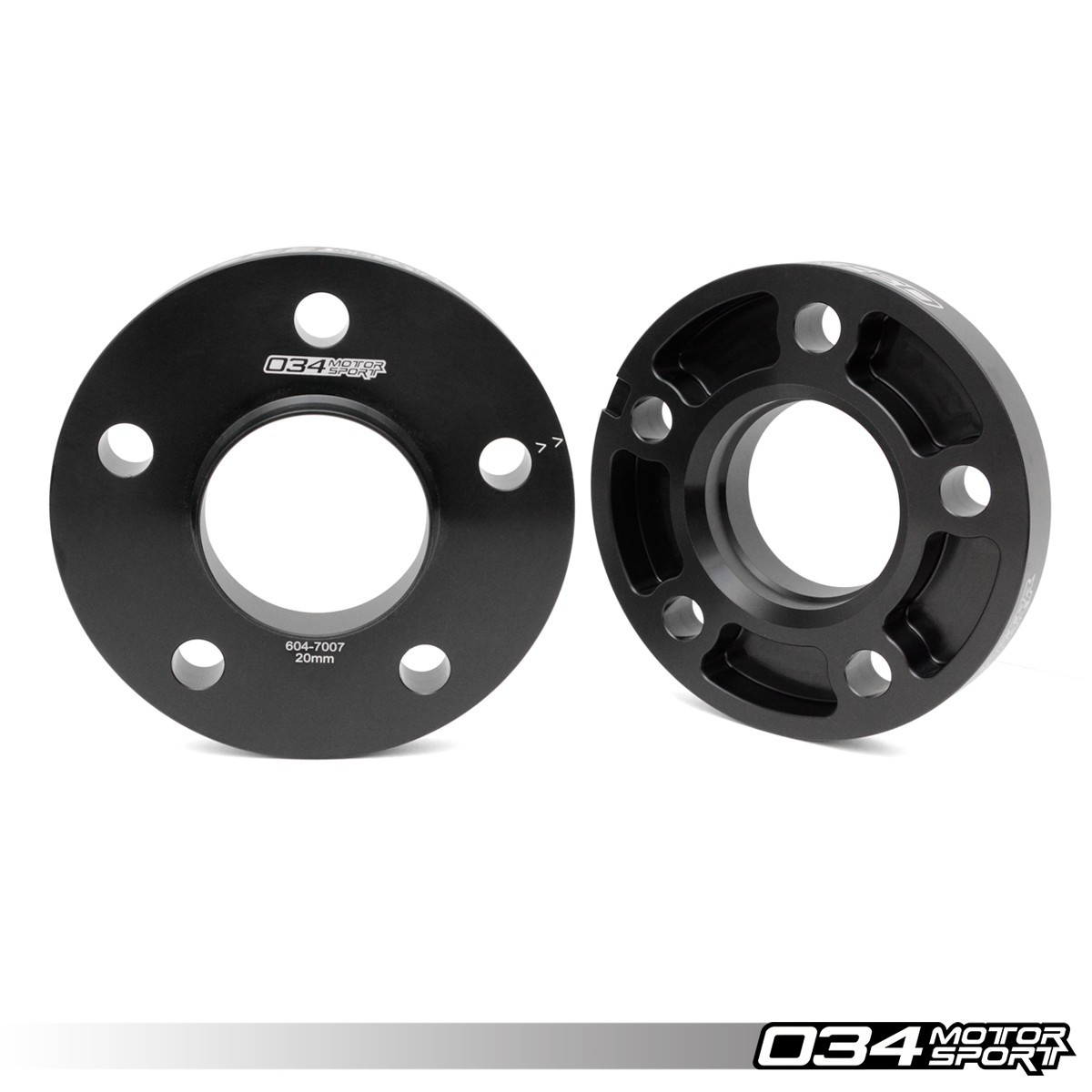 034 Wheel Spacer Pair, 5X112, 20mm Thick, 66.5mm Hub