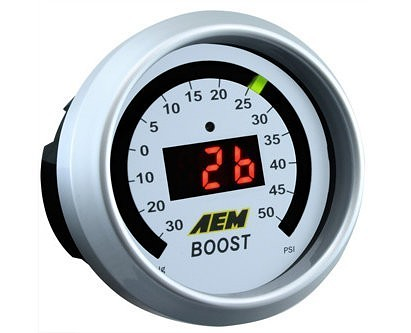 AEM Boost Gauge (50psi)