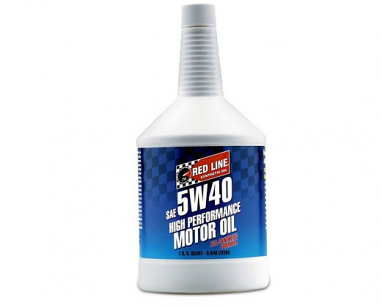 Red Line Synthetic Oil 5W-40 (1 Quart)
