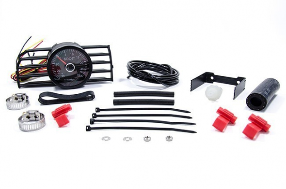 NewSouth Turbo VentPod Boost Gauge Kit For VW MKVI White Gauge