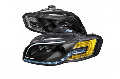 Spec-D Audi R8 Style Headlights For B7 A4