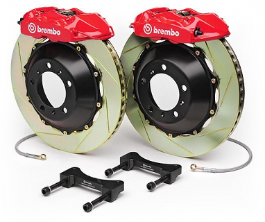 "Brembo GT 380x28mm (15"") 4 Piston Big Brake Kit For B7 RS4"