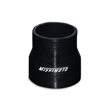 "2.5"" to 2.75"" Silicone Transition Coupler Black"