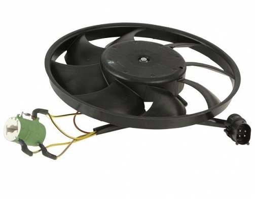 Auxiliary Fan Assembly For Porsche