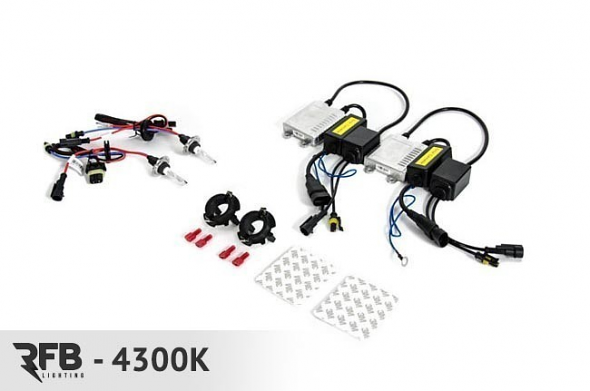 RFB Tiguan HID Conversion Kit For 4300K (Pure White)
