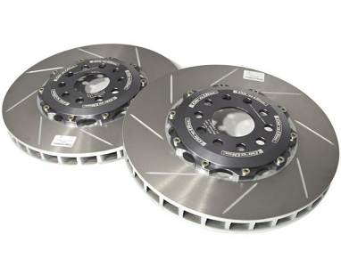 Girodisc Front 2-piece rotors with Brembo 6 Piston Caliper