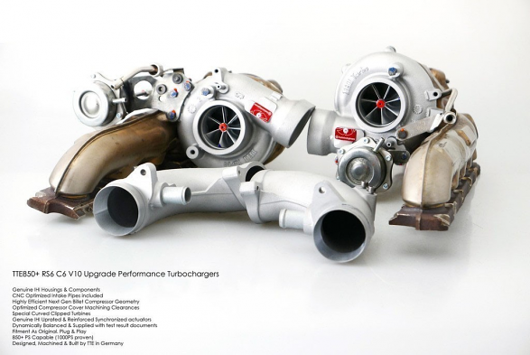 TTE1000+ Turbocharger For a 5.0T RS6 C6