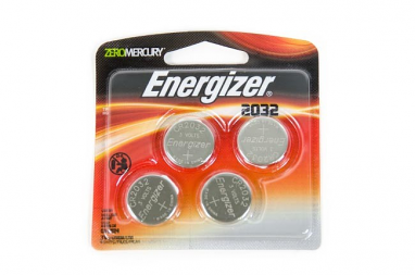 Energizer Lithium Keyfob Battery - 2032 - 4 Pack