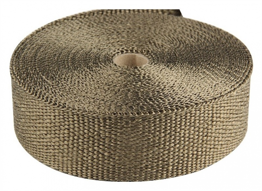 "Torque Solution Exhaust Wrap (Lava): Universal 1"" x 50'"