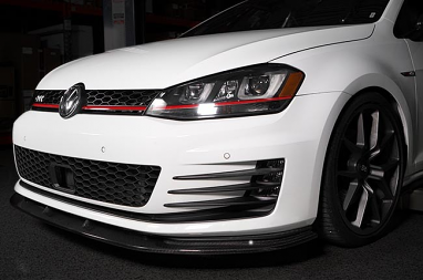 Aggressiv MK7 GTI Carbon Fiber Front Lip - Low Profile