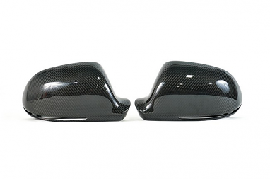 Aggressiv Audi Carbon Fiber Mirror Caps