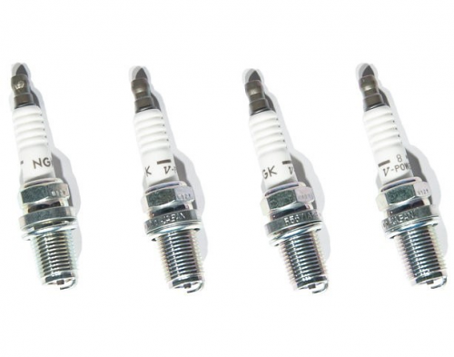 NGK V-Power Racing Spark Plugs Set of 4 For 1.8T