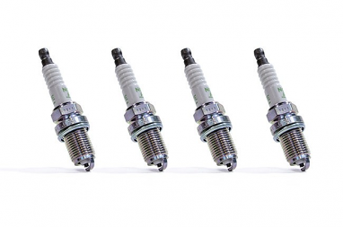 NGK V-Power Racing Spark Plugs Set of 4 For BKR7E