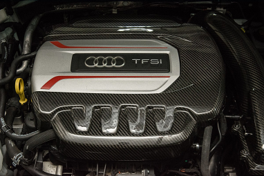 034 Carbon Fiber Engine Cover For 8V Audi S3 & 8S Audi TTS