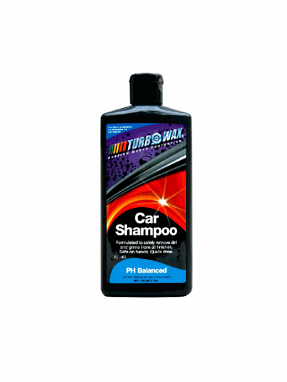 Turbo Wax Car Shampoo 16oz Bottle