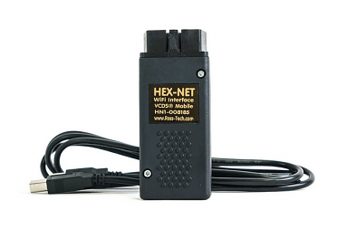 VCDS with HEX-NET Enthusiast  - WiFi & USB Interface