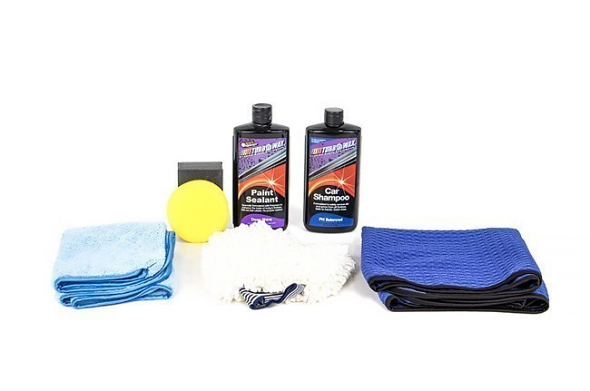 Turbo Wax Essential Wash and Wax Kit