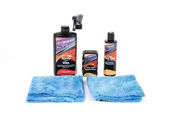 Turbo Wax Car Show Kit