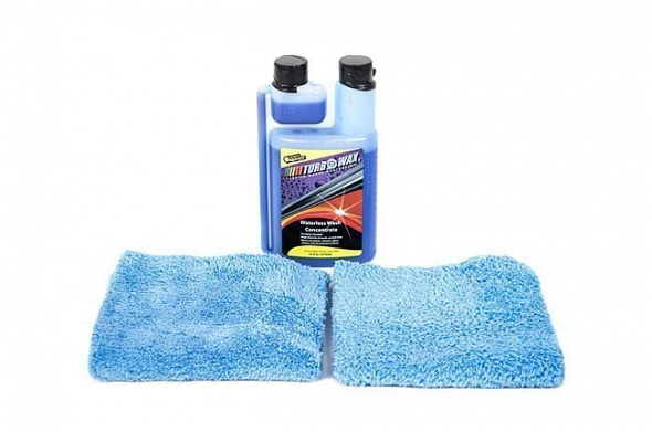 Turbo Wax Waterless Wash Kit