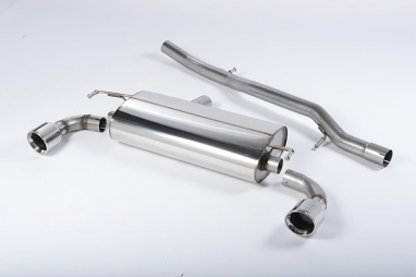 Milltek Non-Resonated Catback Exhaust For VW MK4 R32