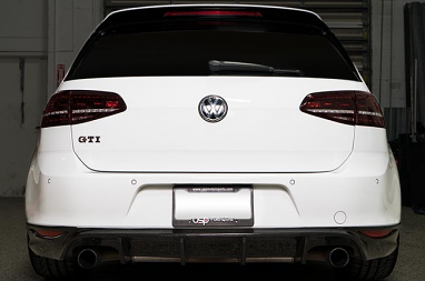 MK7 GTI/Golf R LED Tail Light Set - Dark Cherry