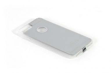 Inbay iPhone 6 Plus/7 Plus Wireless Charging Case Silver