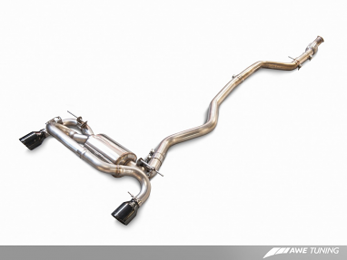 AWE Tuning BMW F22 M235i Touring Edition Axle Back Exhaust