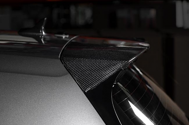 Aggressiv Carbon Fiber Rear Spoiler Cover - Scratch & Dent For MK7 GTI / Golf R