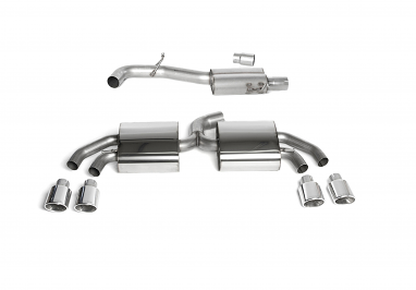 Milltek Sport Quattro Cat-back Exhaust For Audi TT MK2 TTS