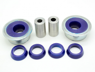 SuperPro Lower Control Arm Bushing Kit - Rear Position Adjustable