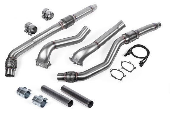 APR Cast Downpipe Exhaust System For 4.0 TFSI Audi S8