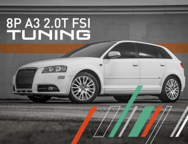 IE Stage 1 Performance Tune (2006-2008) For Audi MK2/8P A3 2.0T FSI