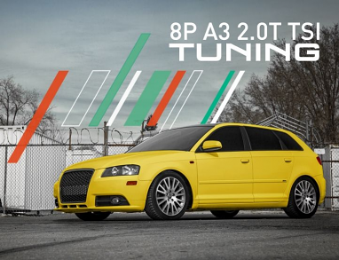 IE Stage 2 Performance Tune (2008-2013) For Audi MK2/8P A3 2.0T TSI