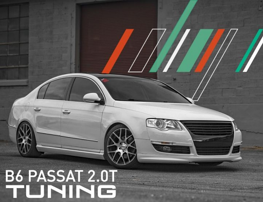 IE Stage 2 Performance Tune (2006-2010) For VW B6/3C Passat 2.0T