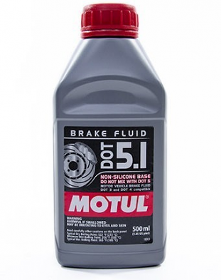 Motul Synthetic DOT 4 Brake Fluid For 5.1