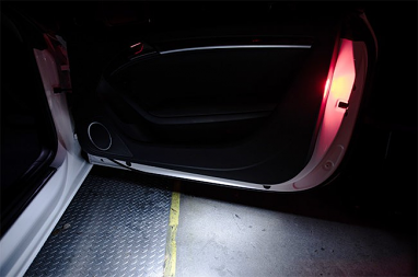 RFB LED Puddle Light Kit 2 Door For Audi