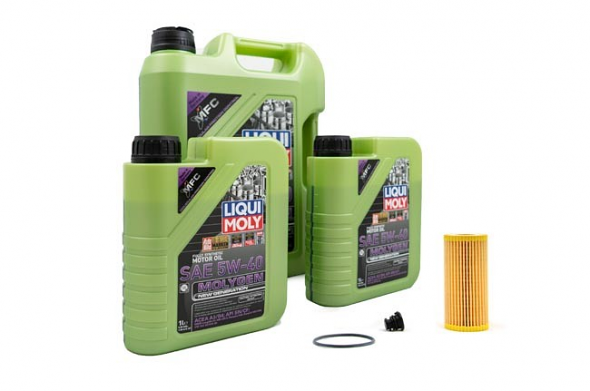 Liqui Moly Molygen 5W/40 Oil Service Kit For Audi 8V RS3
