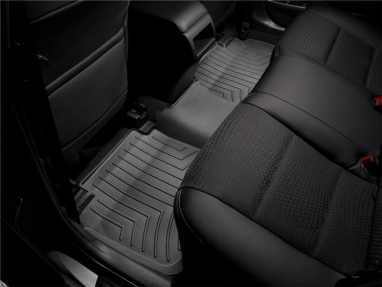 WeatherTech Rear FloorLiner (Black) For Audi A3