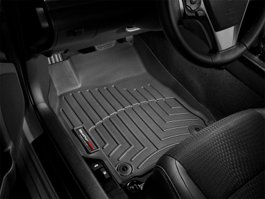 WeatherTech Front FloorLiner (Black) For Volkswagen Golf